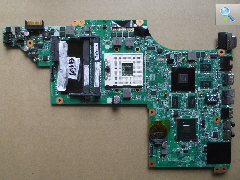 615279-001 DA0LX6MB6H1 Rev: H laptop motherboard for HP Pavilion
