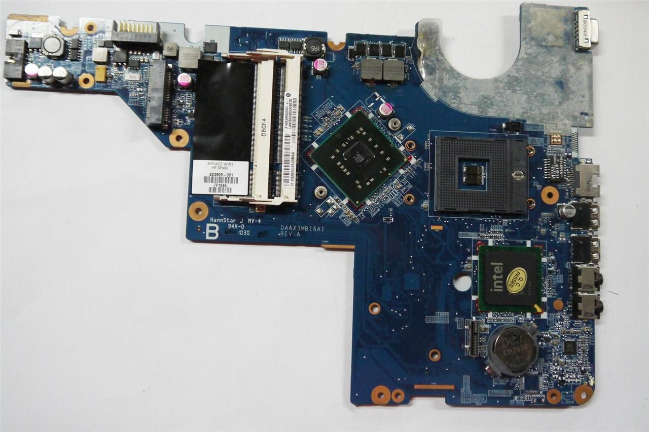 Integrated HP G56 Compaq CQ56 Intel Motherboard 623909-001