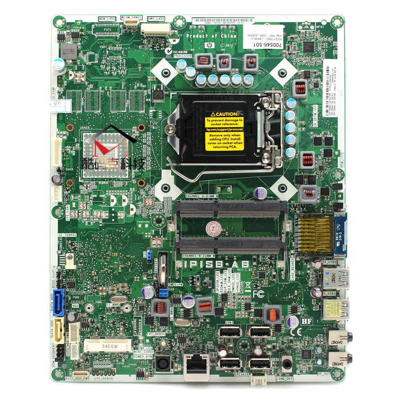 697523-001 For HP Pavilion 20 Pro 3520 AIO Motherboard 703643-001 IPISB-