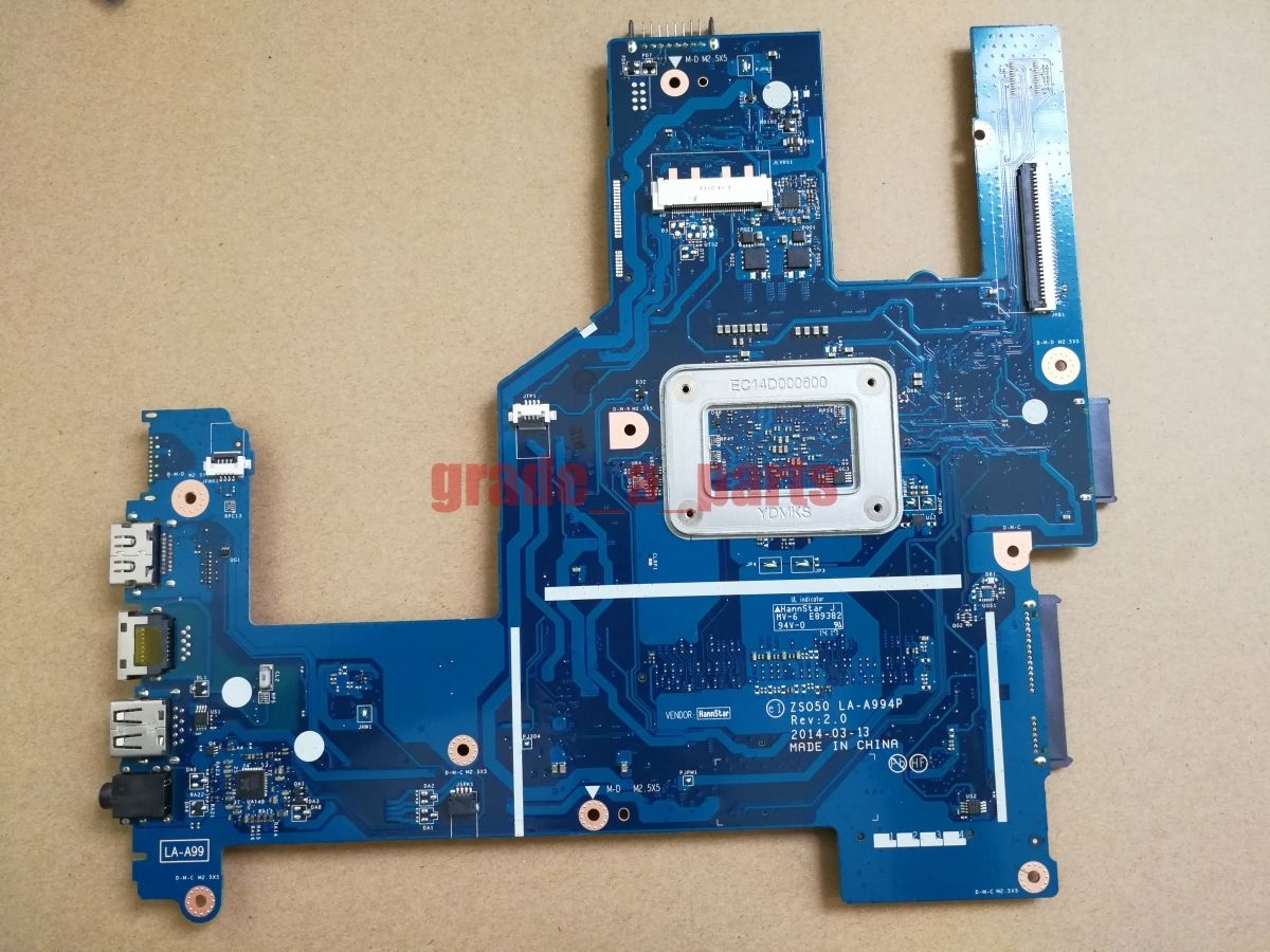 Laptop Motherboard for HP 250 G3 15-R LA-A994P 764101-501 REV 2.0 Main b