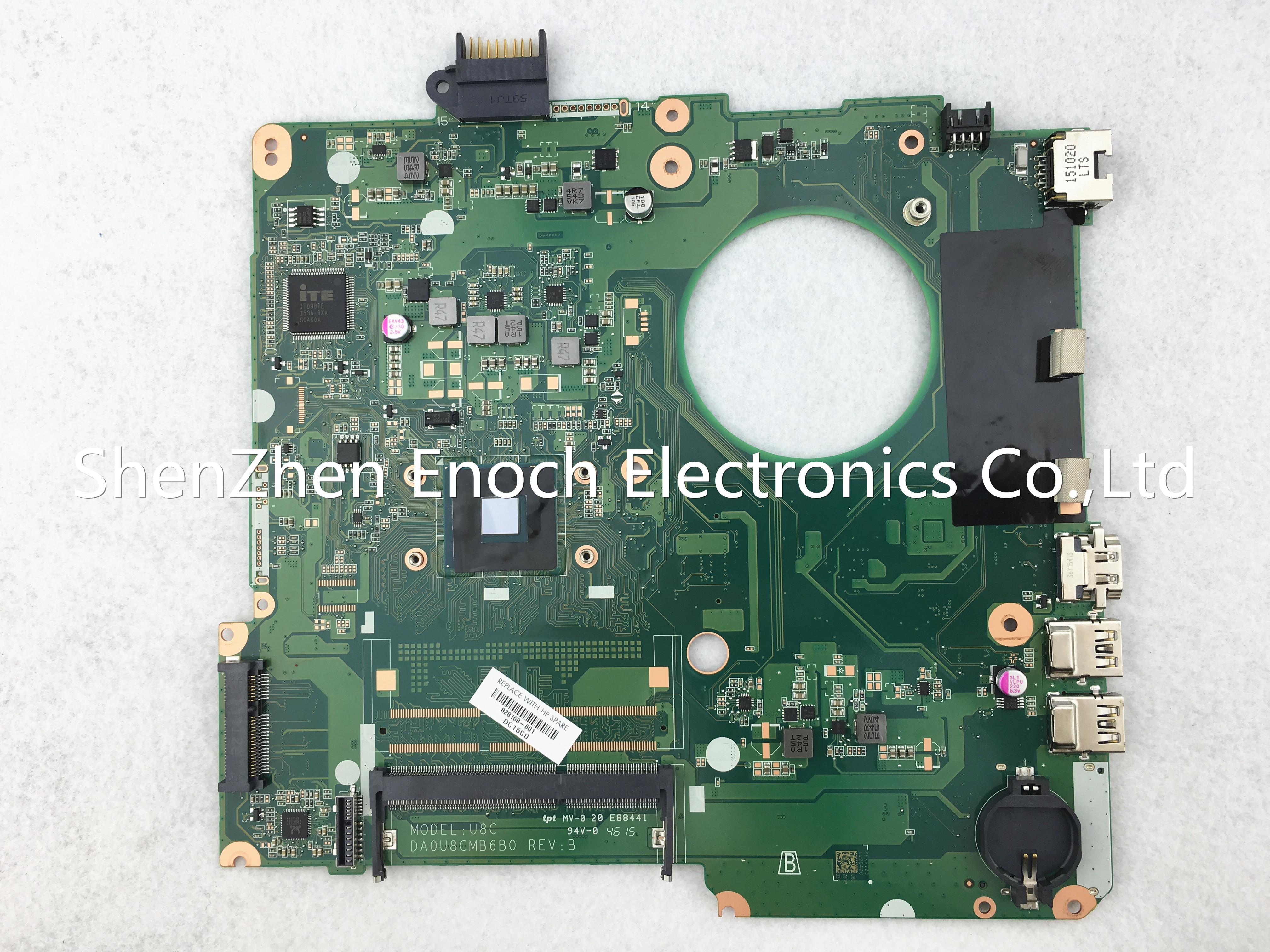 GENUINE!! HP 15-F272WM 15-F SERIES INTEL N3050 1.6Ghz MOTHERBOARD 828168