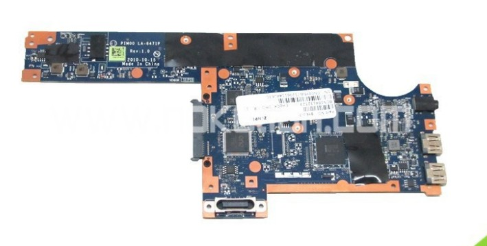 8Y6W7 LA-6471P motherboard for dell inspiron mini Duo 1090 intel
