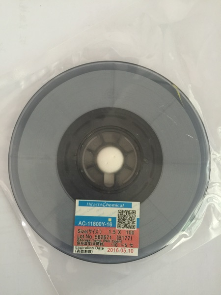 HITACHI AC-11800Y-16 ACF Anisotropic Conductive Film For LCD Pan