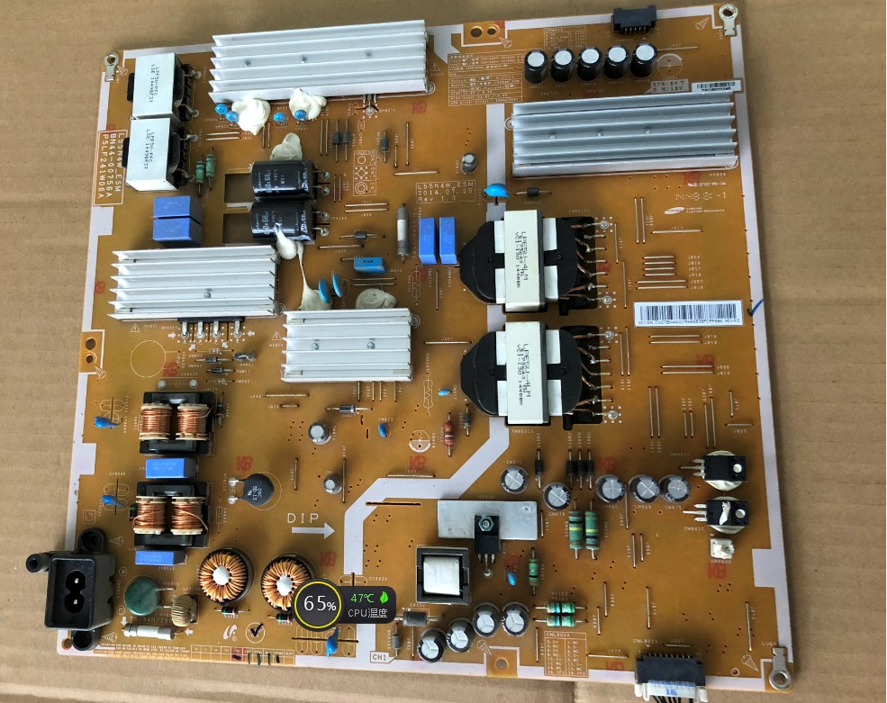 Samsung UA55HU6000J UA55HU5900J L55N4W-ESM Power Supply Board BN44-00756A