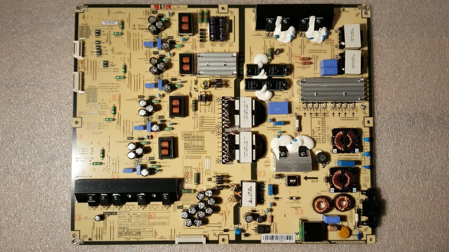 "New SAMSUNG 60"" UN60HU8550FXZA BN44-00762A Power Supply Board"