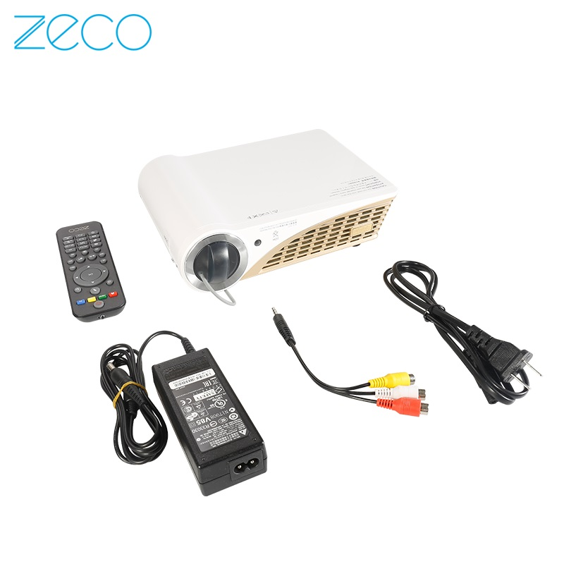 Zeco CX5S wifi wireless home theater projector HD 1080p 3D phone projection