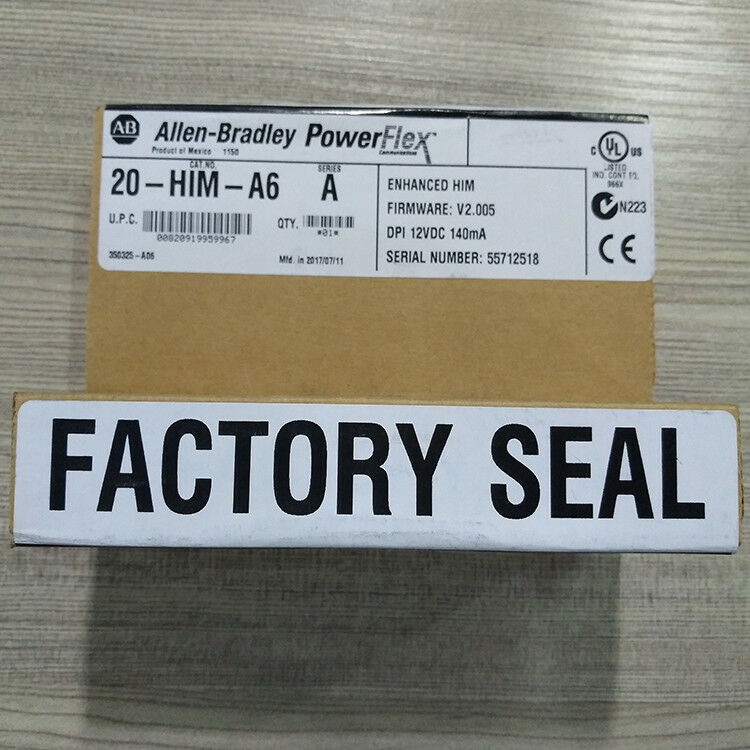 NEW FACTORY SEALED ALLEN BRADLEY 20-HIM-A6 SERIES A ENHANCE HIM SHIPPING