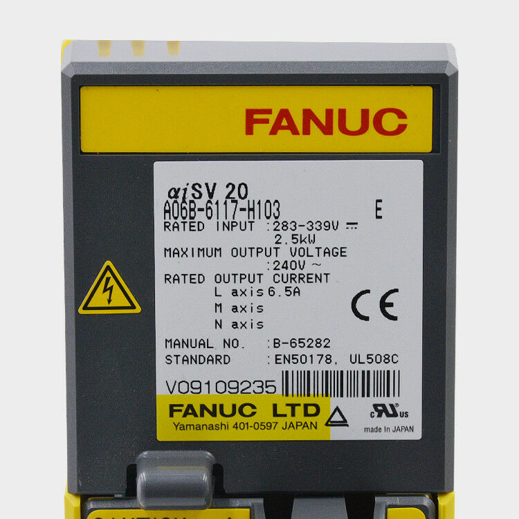 NEW ORIGINAL FANUC SERVO AMPLIFIER MODULE A06B-6117-H103 EXPEDITED SHIPPING
