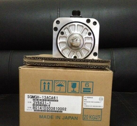 1PC YASKAWA AC SERVO MOTOR SGMGH-13ACA61 NEW EXPEDITED SHIPPING