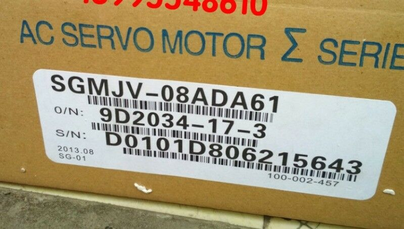 YASKAWA AC SERVO MOTOR SGMJV-08ADA61 NEW EXPEDITED SHIPPING