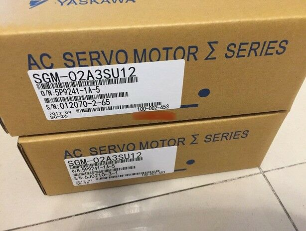 1PC YASKAWA AC SERVO MOTOR SGM-02A3SU21 NEW ORIGINAL EXPEDITED SHIPPING