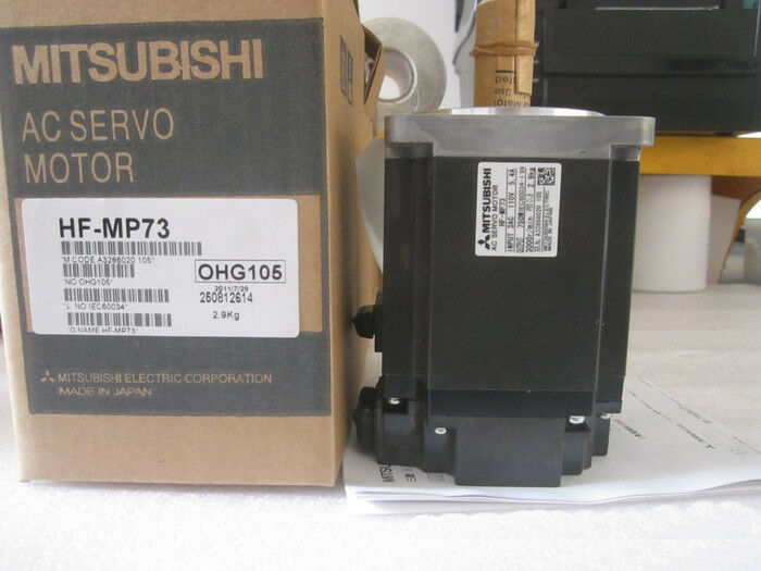 1PC MITSUBISHI AC SERVO MOTOR HF-MP73 HFMP73 NEW ORIGINAL EXPEDITED SHIP