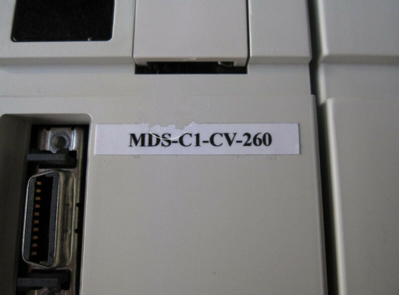 USED MITSUBISHI POWER SUPPLY UNIT MDS-C1-CV-260 EXPEDITED SHIPPING