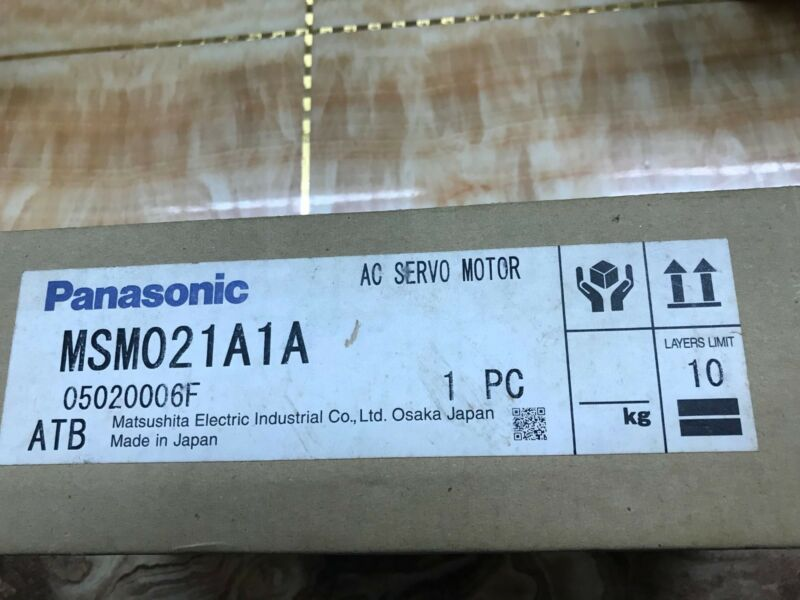 PANASONIC AC SERVO MOTOR MSM021A1A NEW ORIGINAL EXPEDITED SHIPPING