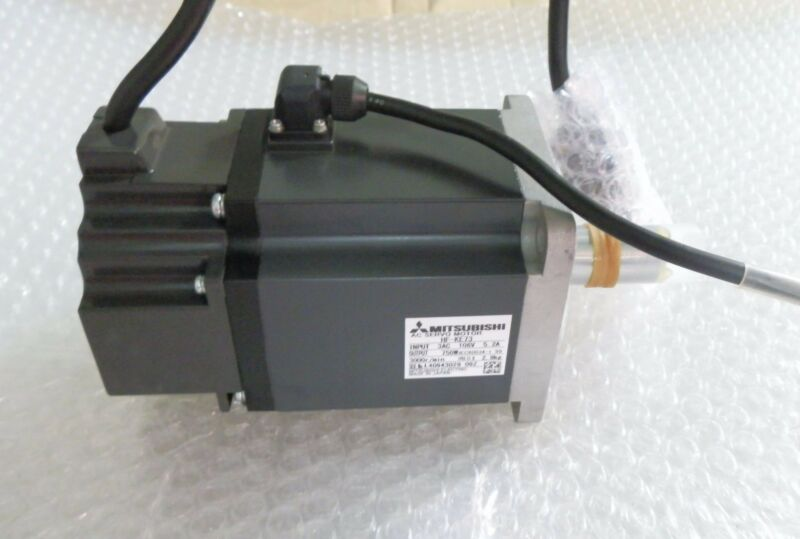 NEW ORIGINAL MITSUBISHI AC SERVO MOTOR HF-KE73 HFKE73 EXPEDITED SHIPPING
