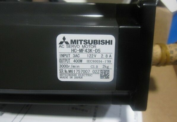 MITSUBISHI AC SERVO MOTOR HC-MF43K-D5 NEW ORIGINAL EXPEDITED SHIPPING