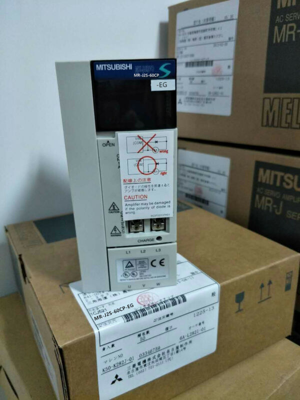 1PC MITSUBISHI AC SERVO DRIVER MR-J2S-60CP-EG NEW EXPEDITED SHIPPING