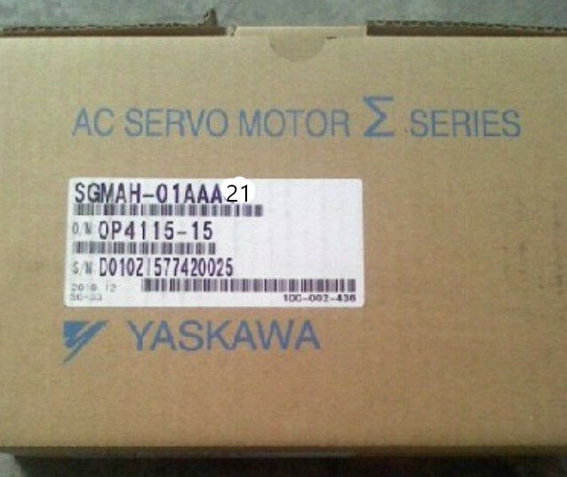 YASKAWA AC SERVO MOTOR SGMAH-01AAA2C NEW ORIGINAL EXPEDITED SHIPPING