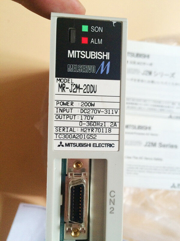 MITSUBISHI AC SERVO DRIVER MR-J2M-20DU MRJ2M20DU NEW EXPEDITED SHIPPING