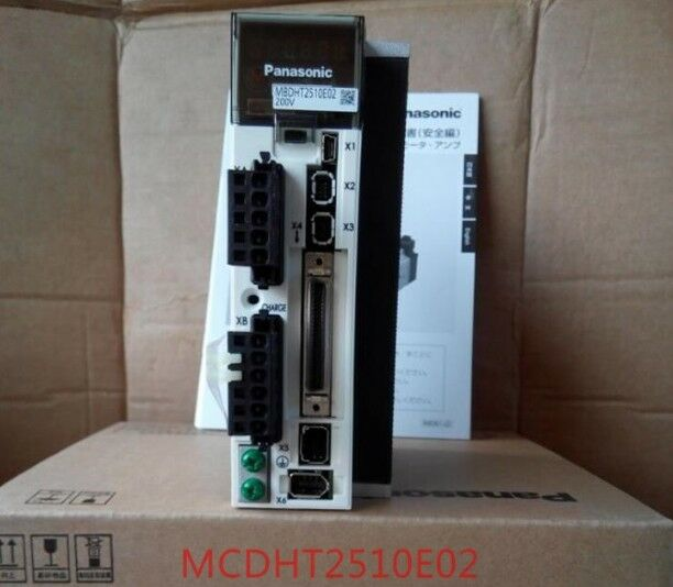 NEW ORIGINAL 1PC PANASONIC AC SERVO DRIVER MBDHT2510E02 EXPEDITED SHIPPING