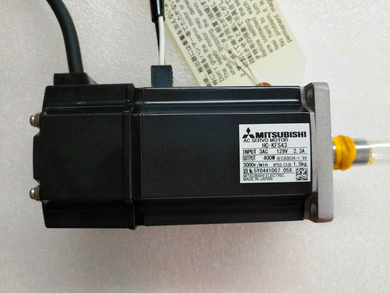 MITSUBISHI AC SERVO MOTOR HC-KFS43 HCKFS43 NEW ORIGINAL EXPEDITED SHIPPING