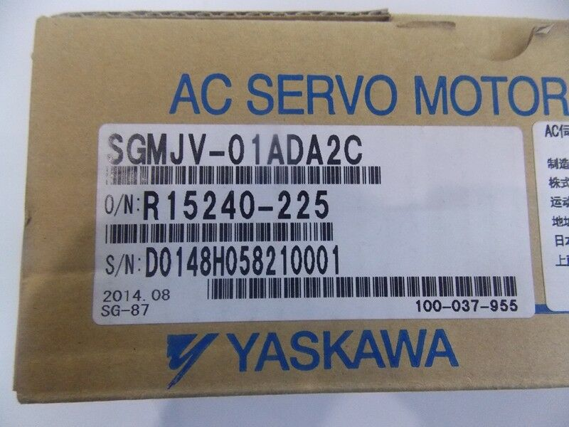 1PC YASKAWA AC SERVO MOTOR SGMJV-01ADA2C NEW ORIGINAL EXPEDITED SHIPPING