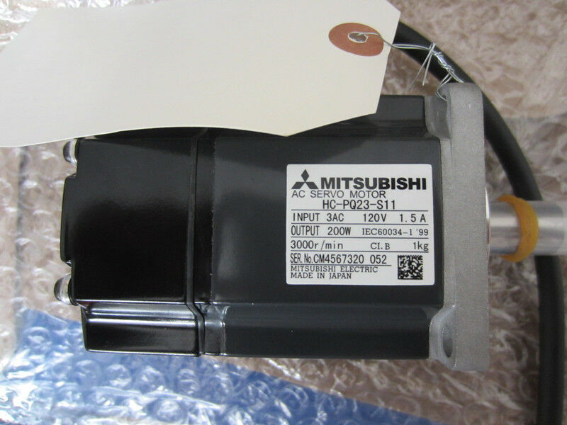 MITSUBISHI AC SERVO MOTOR HC-PQ23-S11 NEW ORIGINAL EXPEDITED SHIPPING