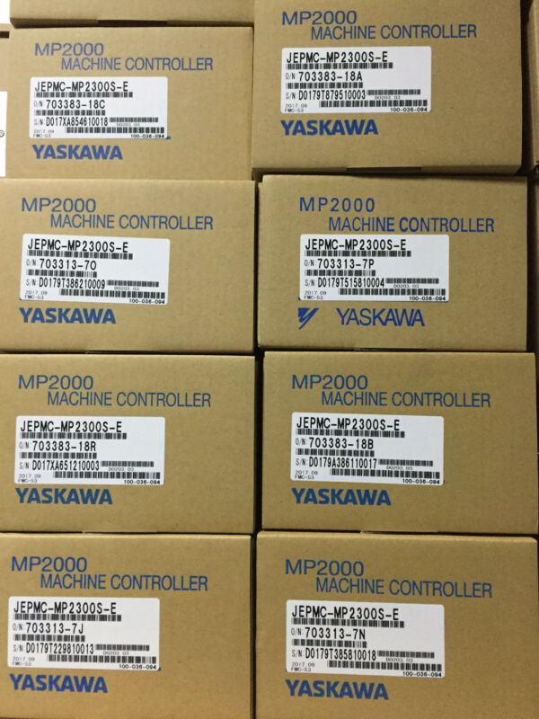 1PC USED YASKAWA MACHINE CONTROLLER JEPMC-MP2300S-E EXPEDITED SHIPPING