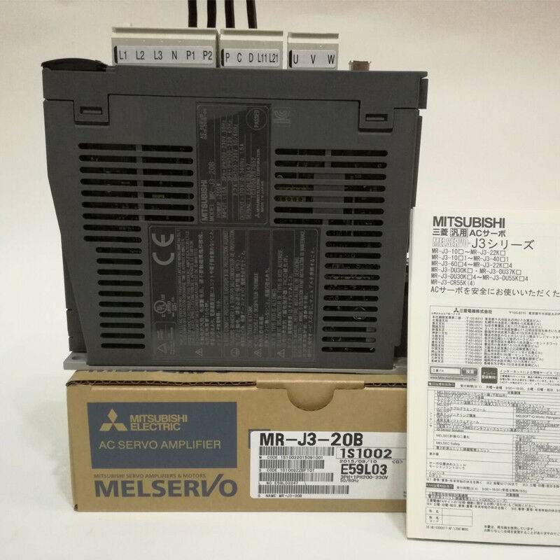 MITSUBISHI AC SERVO DRIVER MR-J3-20B MRJ320B NEW EXPEDITED SHIPPING