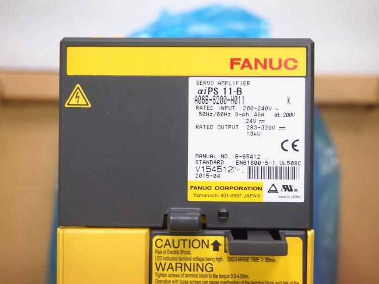 NEW IN BOX FANUC SERVO AMPLIFIER A06B-6200-H011 EXPEDITED SHIPPING