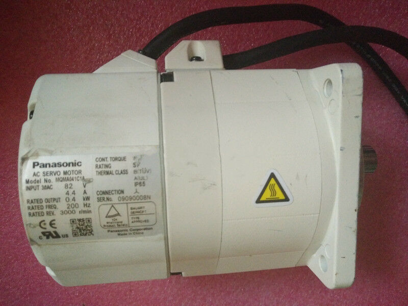 USED 1PC PANSONIC AC SERVO MOTOR MQMA041C1A USED 100% TESTED SHIPPING