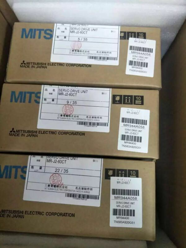 1PC MITSUBISHI AC SERVO DRIVER MR-J2-60CT NEW ORIGINAL EXPEDITED SHIPPING