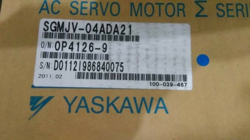 1PC YASKAWA AC SERVO MOTOR SGMJV-04ADA21 SGMJV04ADA21 NEW EXPEDITED SHIPING