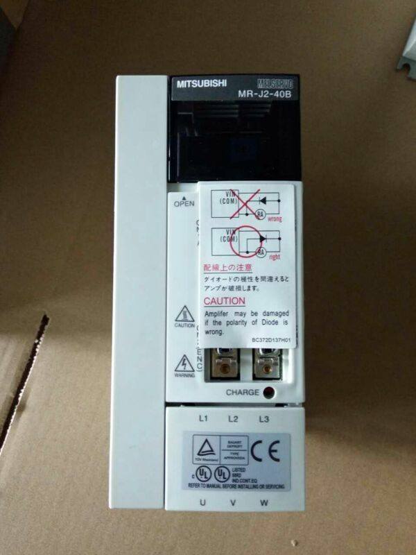 1PC MITSUBISHI AC SERVO DRIVER MR-J2-40B NEW ORIGINAL EXPEDITED SHIP