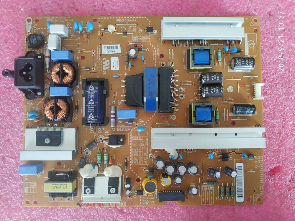 LG EAY63072001 (LGP474950-14PL2) Power Supply LED Driver Board