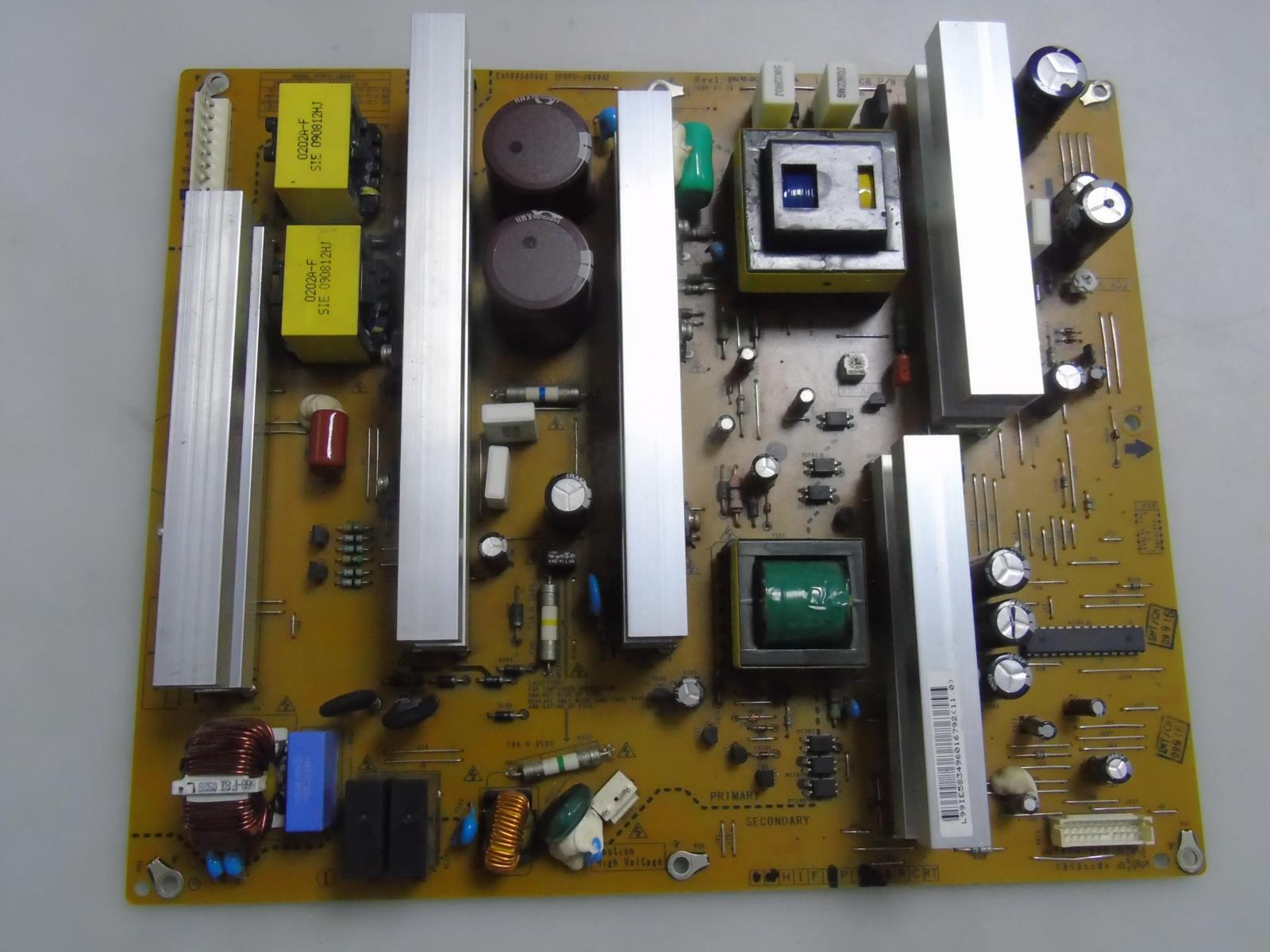 LG 42PQ30-UA Power Supply EAY58349601 42PQ30-UA.