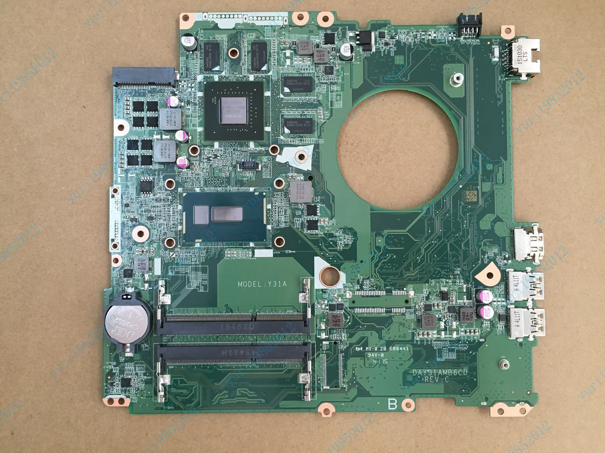 HP ENVY17-K DAY31AMB6C0 Motherboard w/ I7-5500U Intel Proces