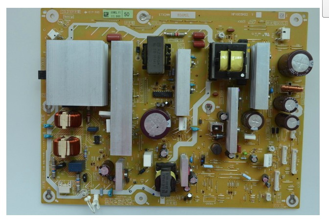 PANASONIC TH-P50V20A POWER SUPPLY BOARD ETX2MM806MSL
