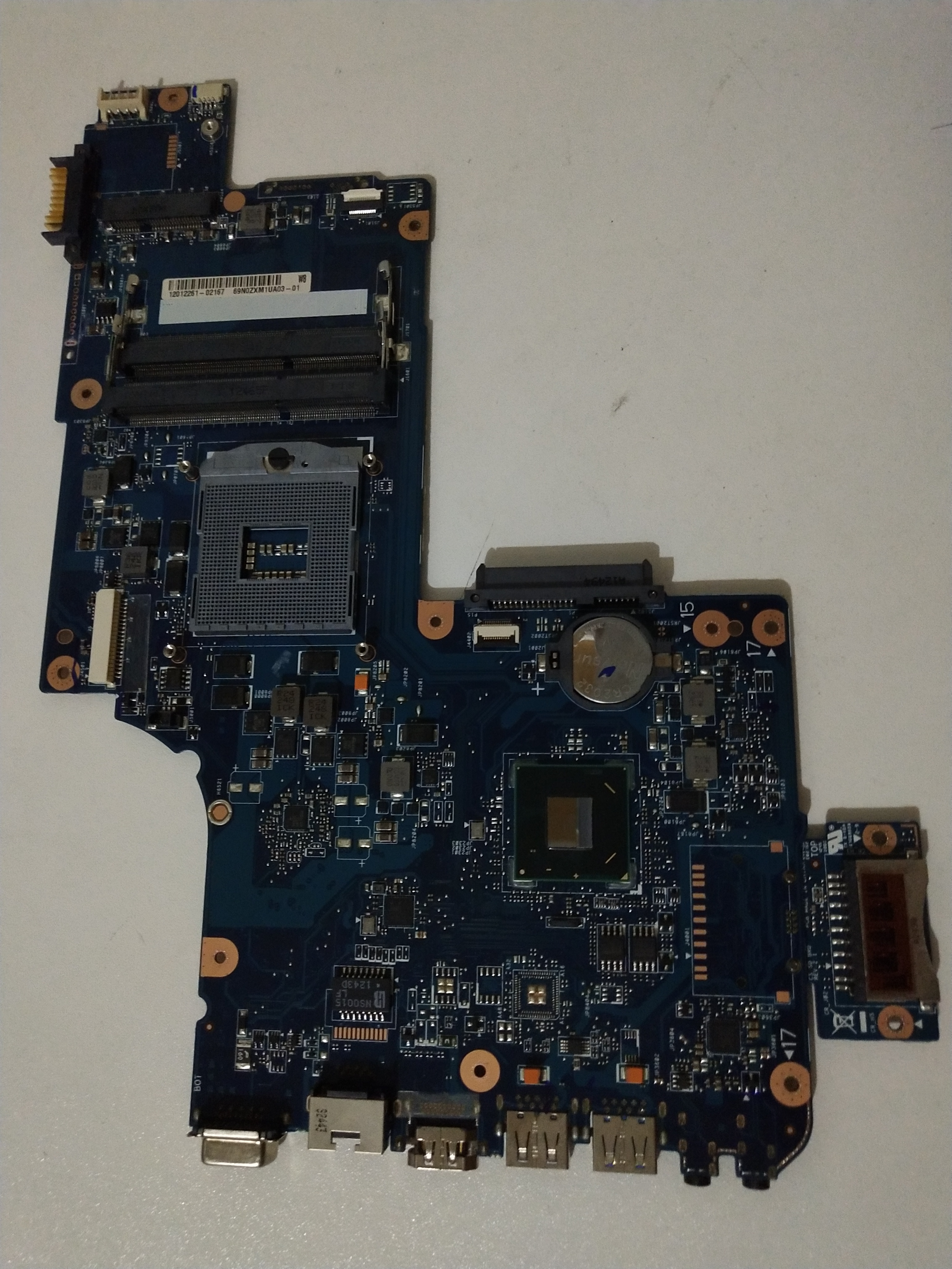 New Stock Toshiba Satellite C870 C875 Intel HM70 Motherboard H000043520