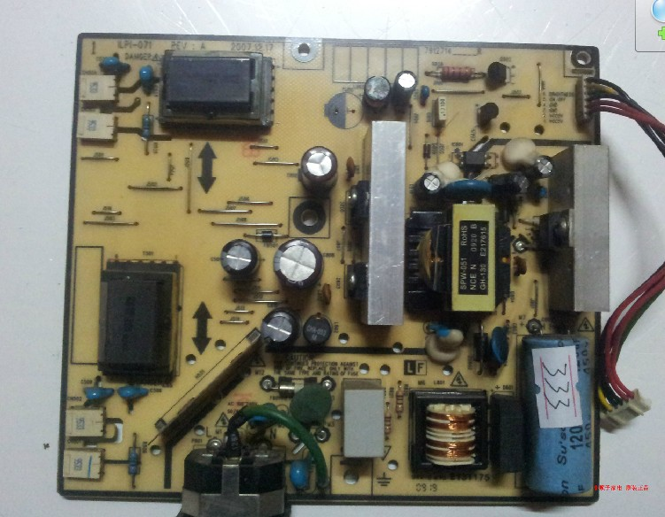 Power PCB Unit Board for LG Flatron L1734s-BN ILPI-071