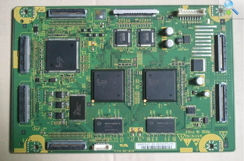 HITACHI P50X01AU LOGIC MAIN BOARD JP54681