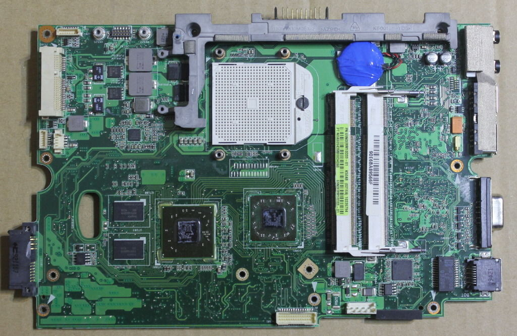 ASUS K40AB Laptop Motherboard (System board/Mainboard) fully tes