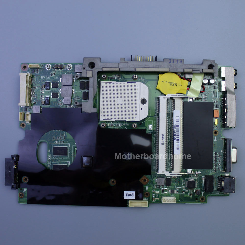 For Asus K40AD REV 2.1 Non-integrated laptop motherboard K40AD