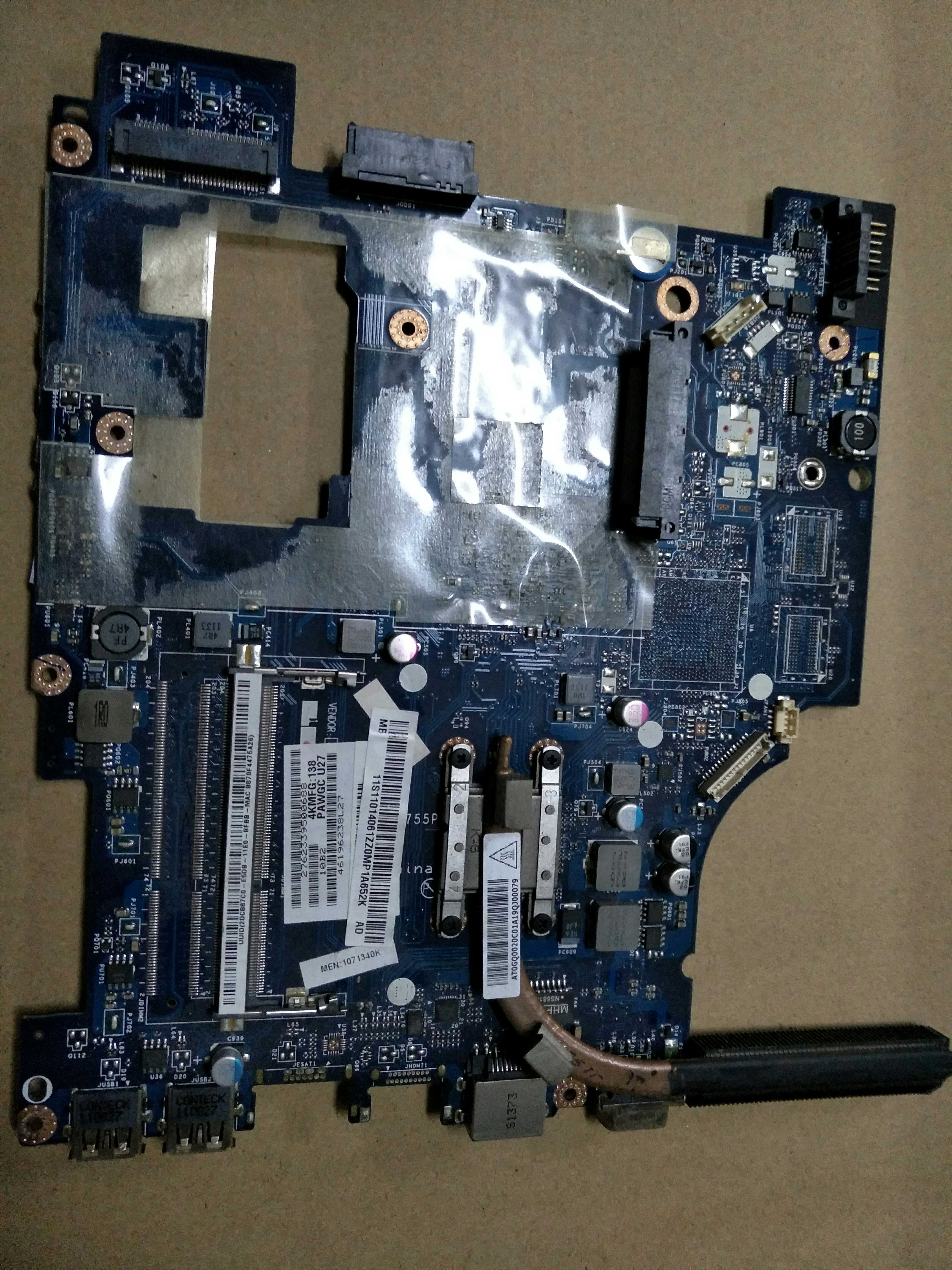 For Lenovo G475 laptop motherboard PAWGC LA-6755P Intel CPU DDR3 100% te