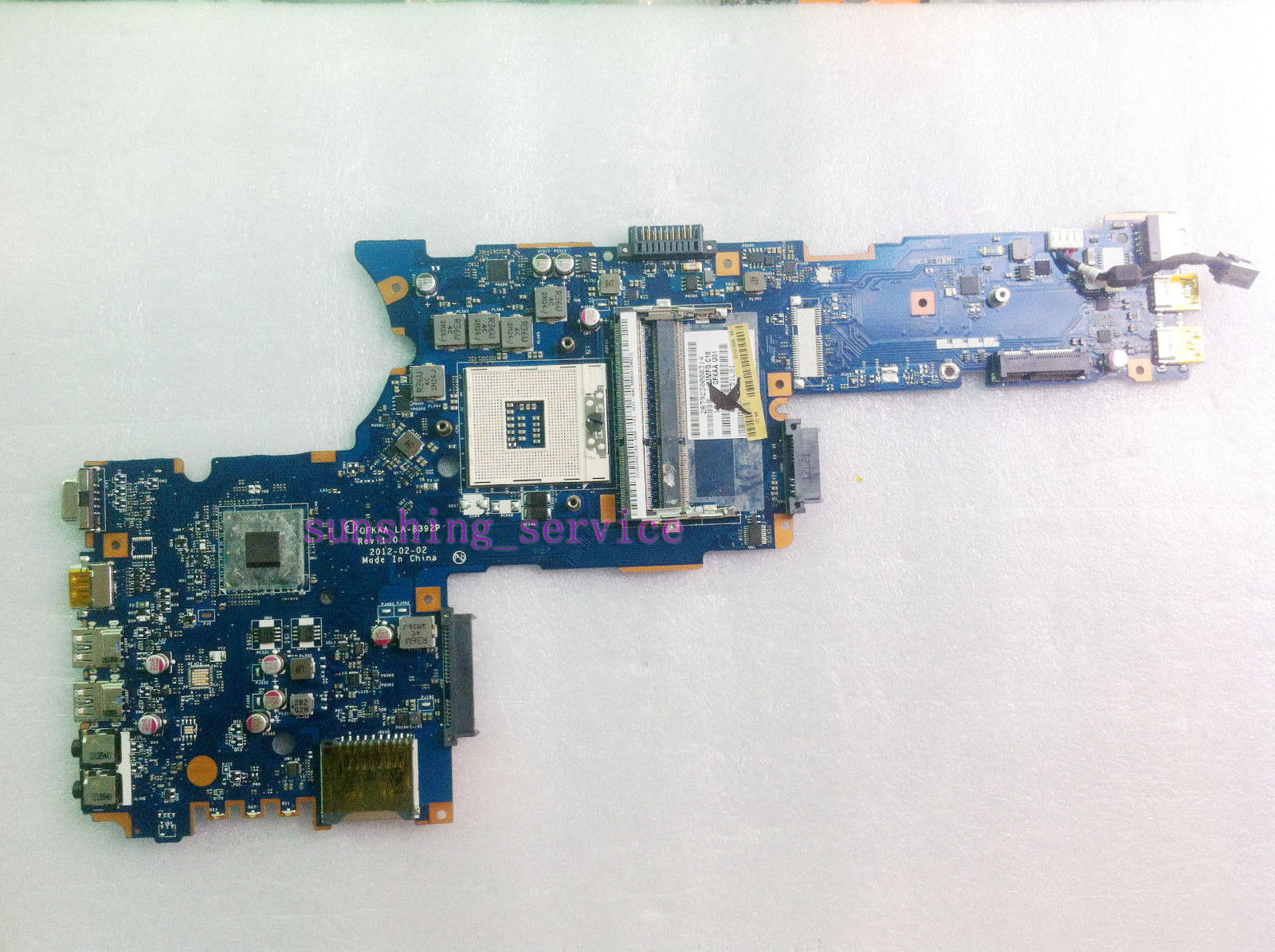 Toshiba Satellite P855 Intel Laptop Motherboard Mainboard K00013