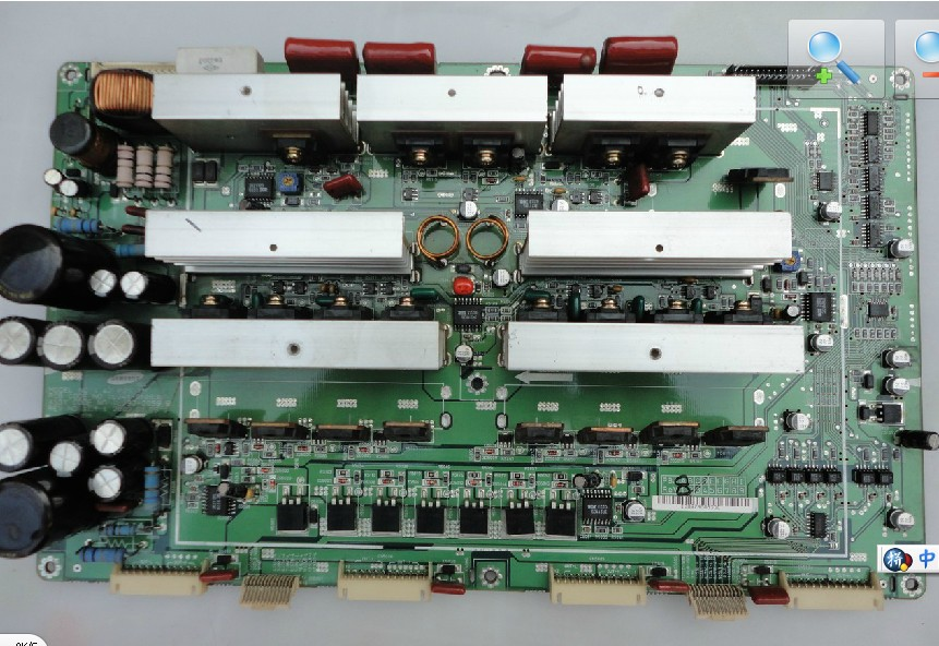 LJ92-00597C LJ41-01053B 42-P2S-YMAIN BOARD FROM SVA HD4208T PDP