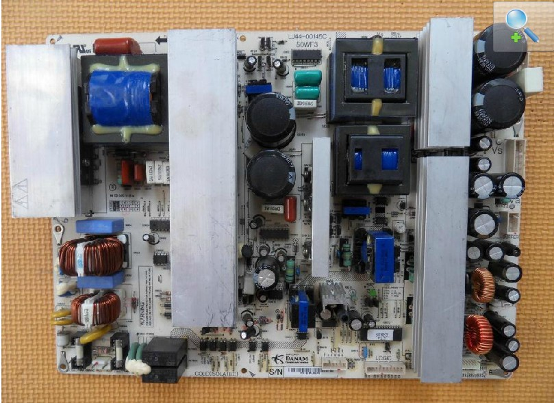 LJ44-00145C LJ44-00145B Power Supply Board for NS-PDP50HD-09