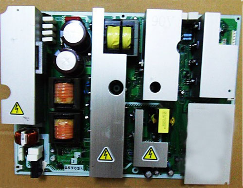 HITACHI 55HDT79 MAIN POWER SUPPLY PC BOARD, HA01751 LSJB1224-1 L