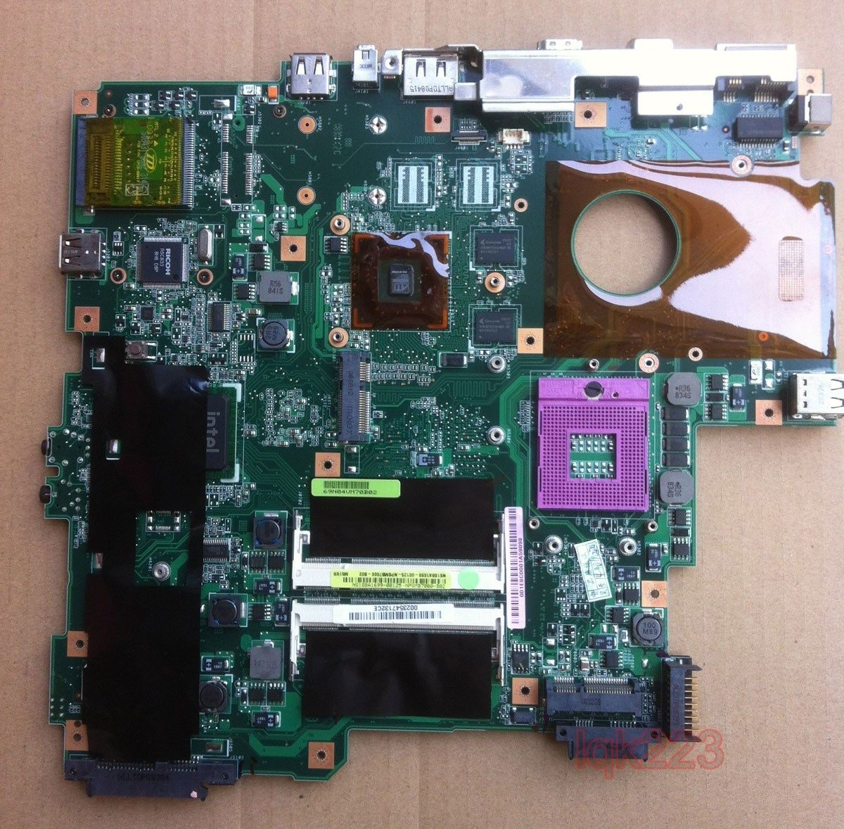 FOR ASUS M51VR Laptop Motherboard(USED)