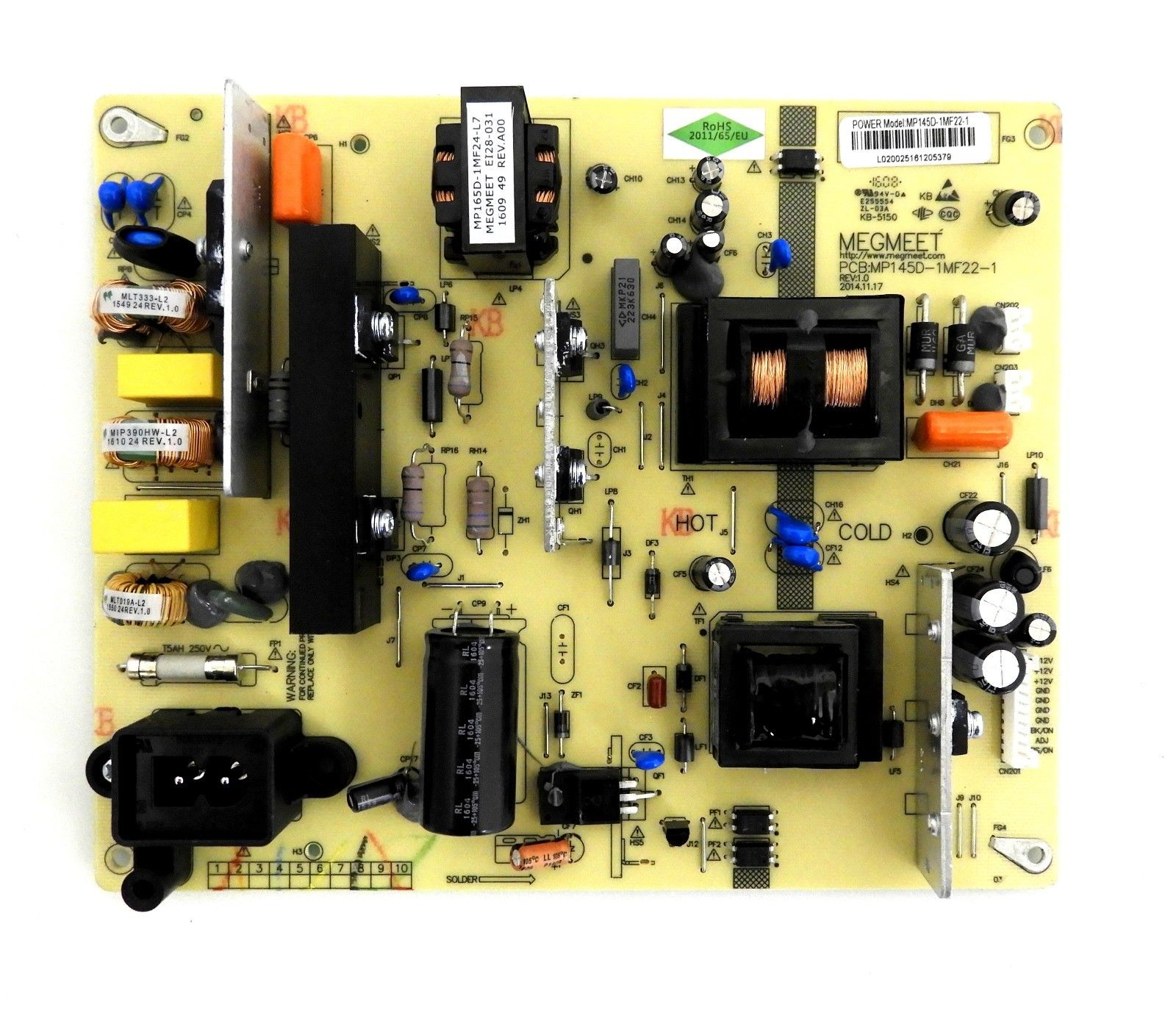 NEW MP145D-1MF22-1 POWER SUPPLY BOARD FOR HITACHI LE55A6R9A